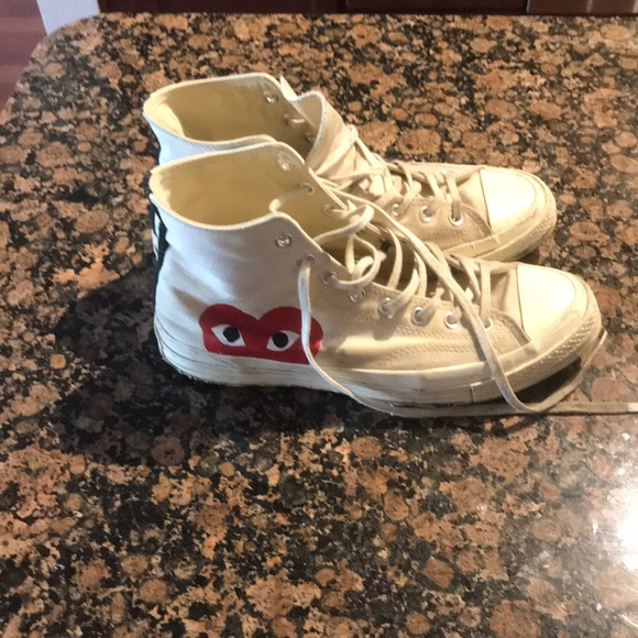cdg converse high used, OFF 75%,Best